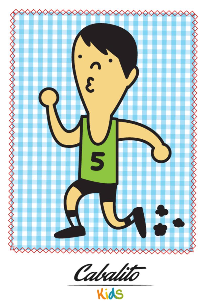 Los Chaches, diseño de personajes infantiles 37
