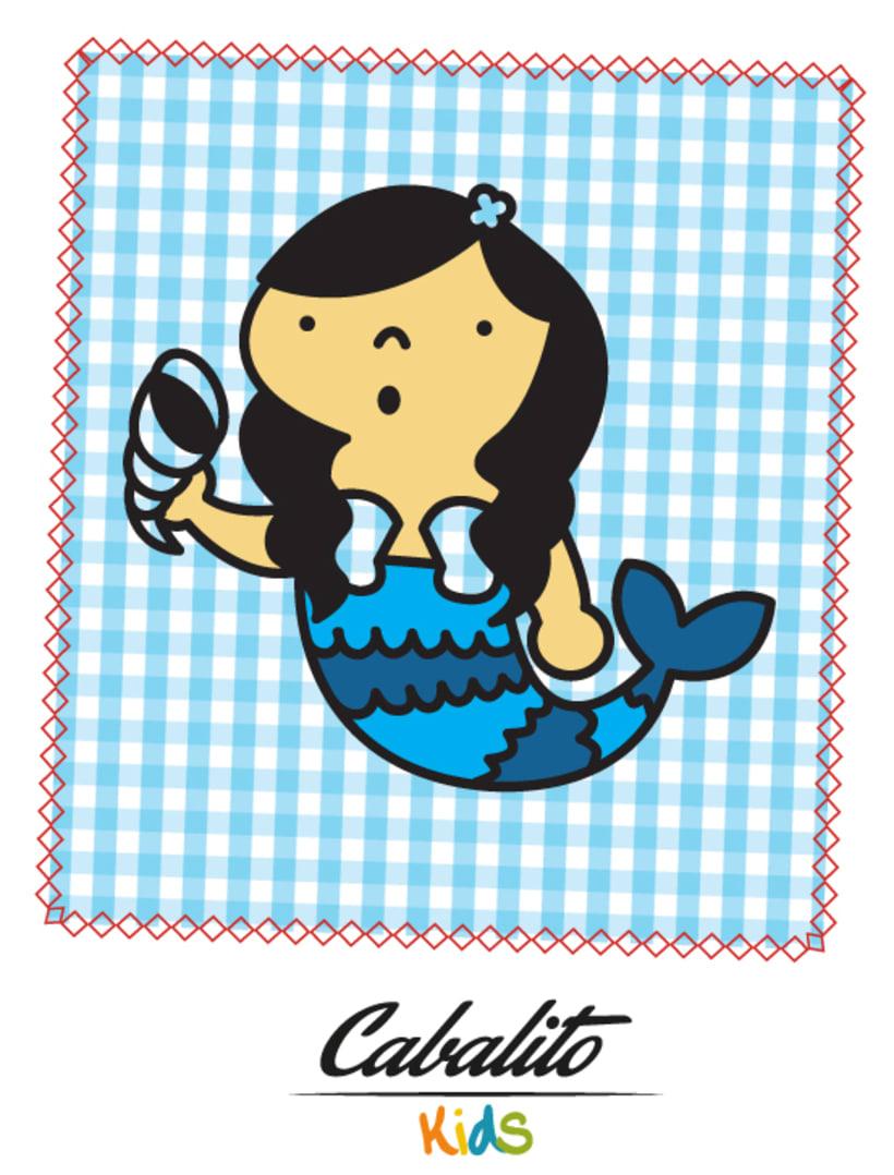 Los Chaches, diseño de personajes infantiles 38
