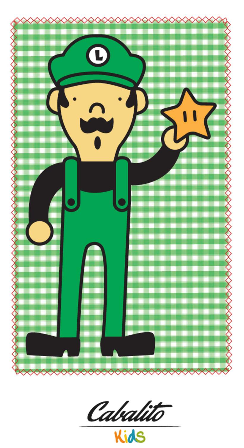 Los Chaches, diseño de personajes infantiles 39
