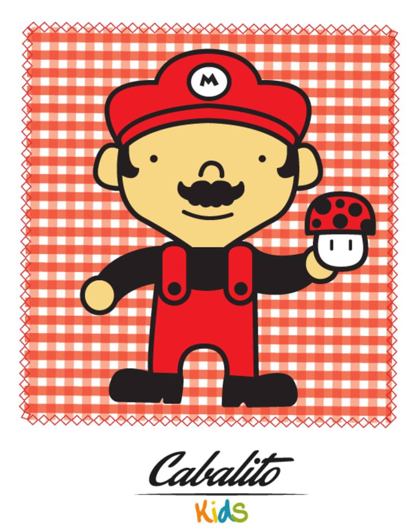 Los Chaches, diseño de personajes infantiles 41