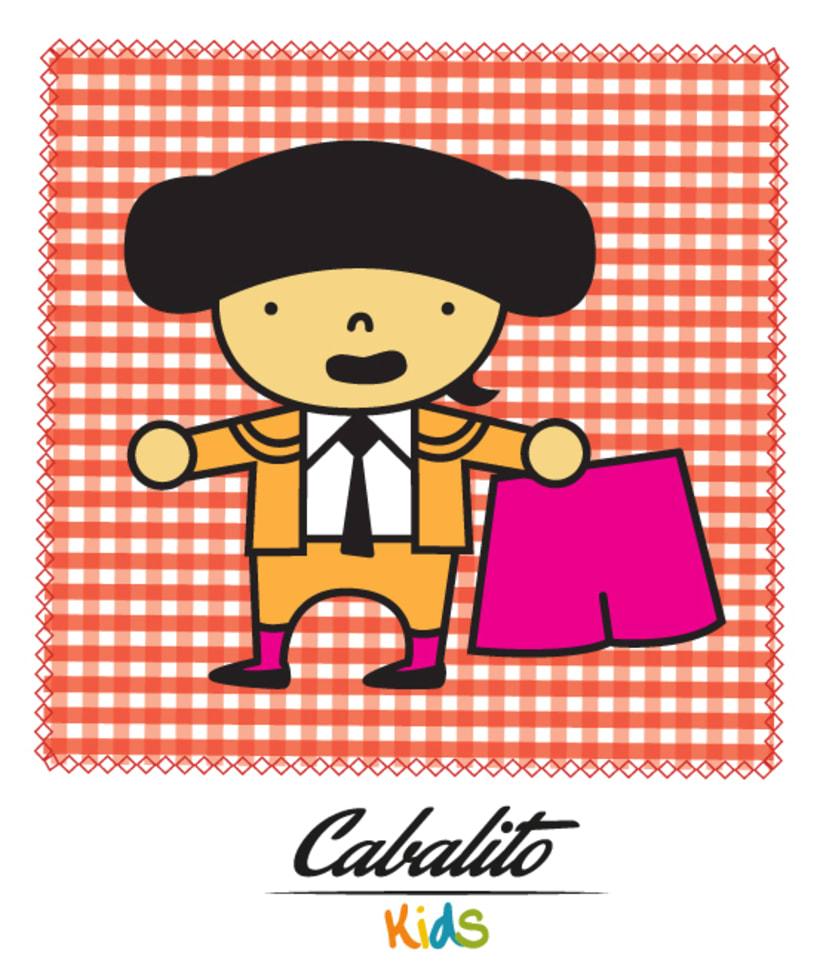 Los Chaches, diseño de personajes infantiles 43