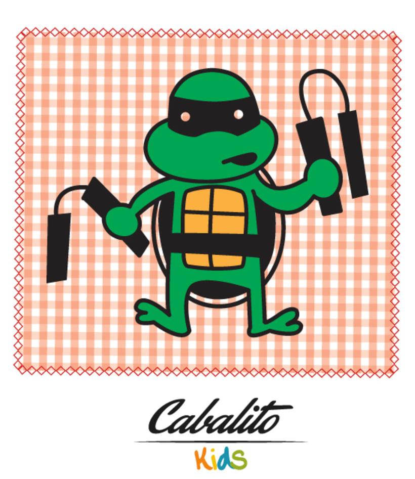 Los Chaches, diseño de personajes infantiles 45