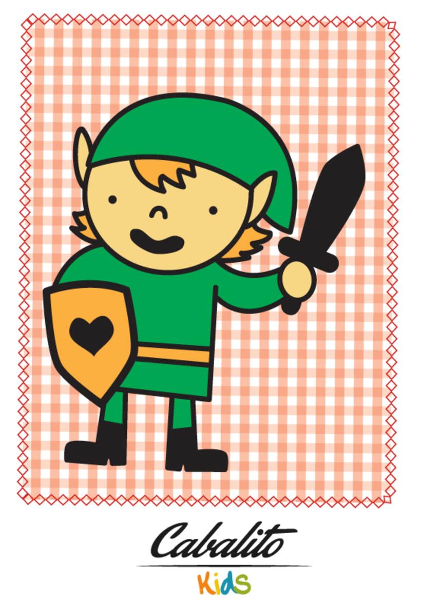 Los Chaches, diseño de personajes infantiles 44