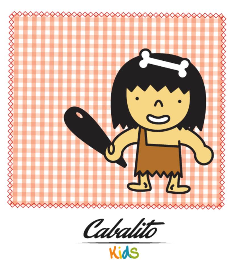 Los Chaches, diseño de personajes infantiles 46