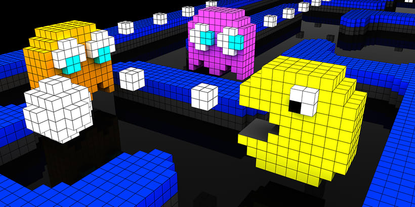 Voxel Pacman Adventure 2