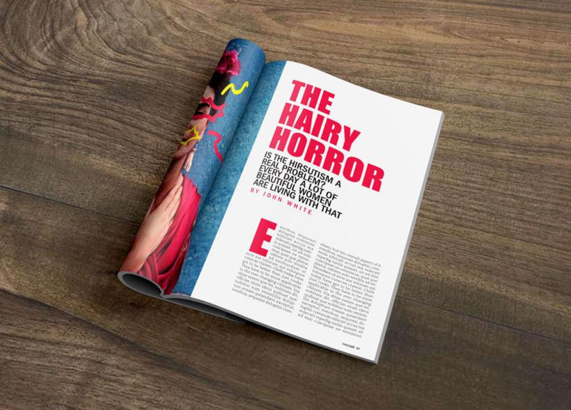 """Diseño Editorial """"Takecare Magazine"""" 2"""