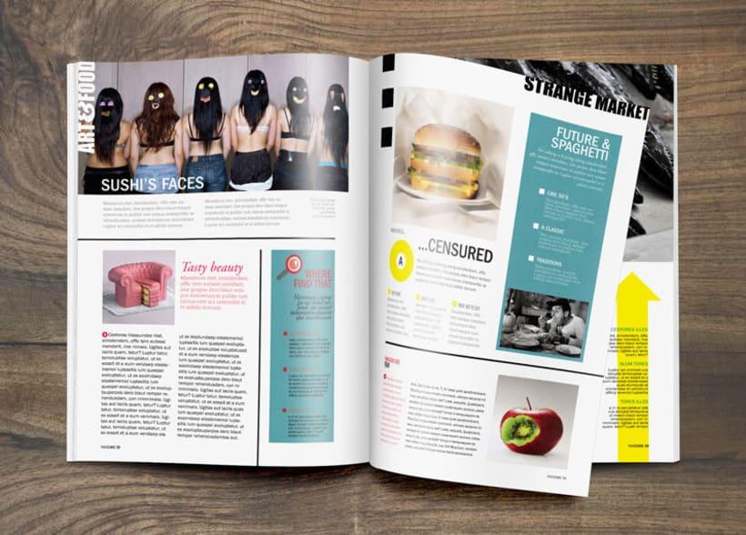 """Diseño Editorial """"Takecare Magazine"""" 3"""