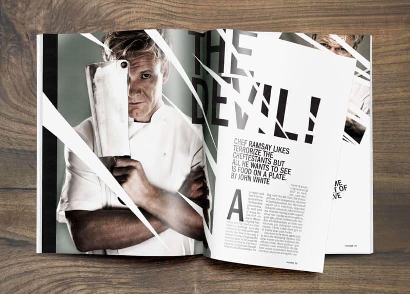 """Diseño Editorial """"Takecare Magazine"""" 1"""