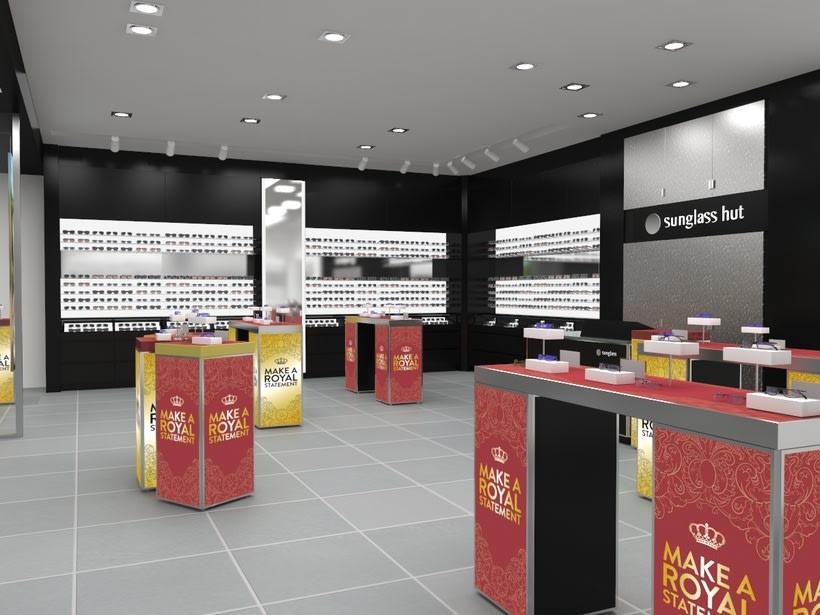 Sunglass Hut: Concurso de retail del Aeropuerto de Barcelona 1