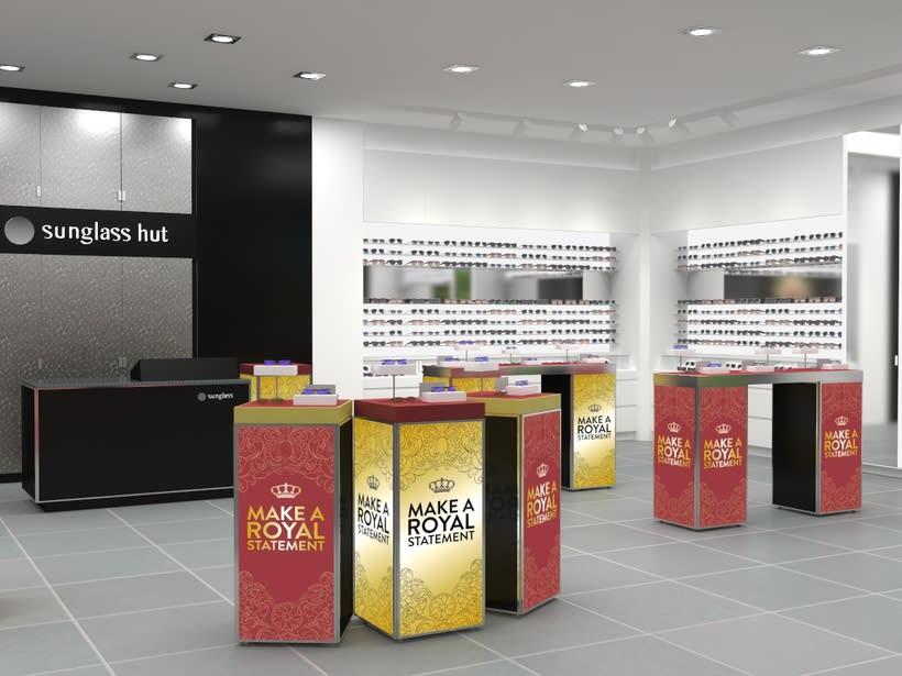 Sunglass Hut: Concurso de retail del Aeropuerto de Barcelona 2