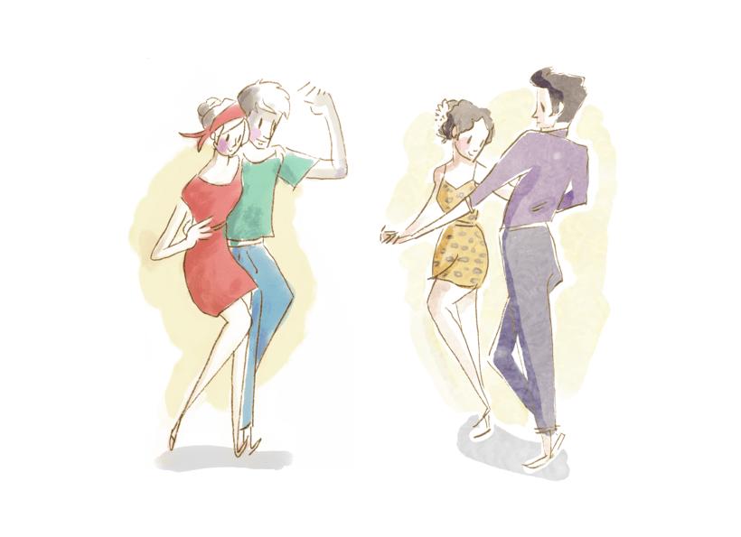 Lindy dancing 0