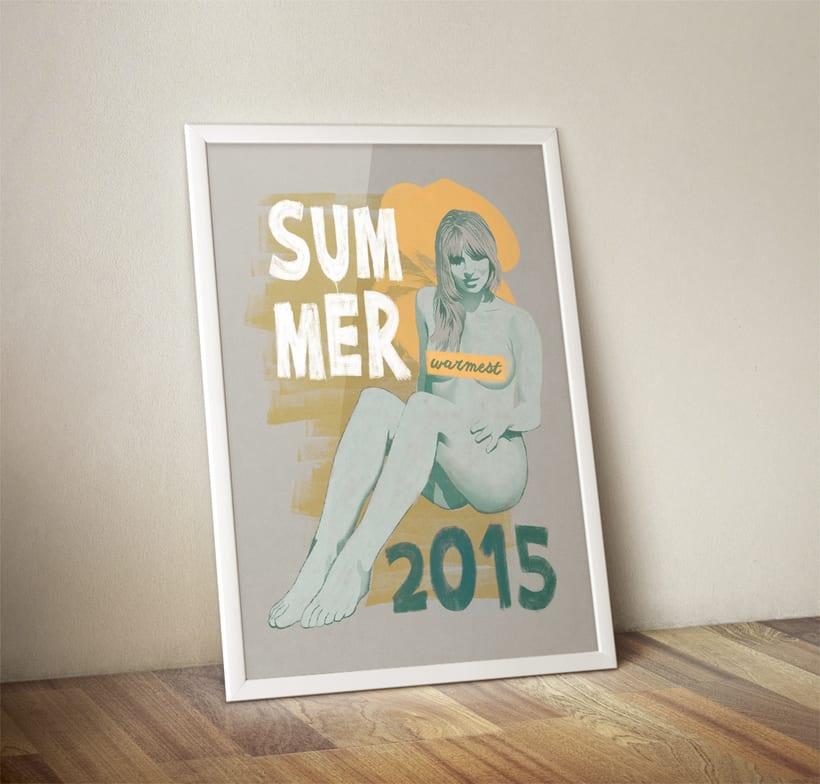 Warmest Summer 2015 1