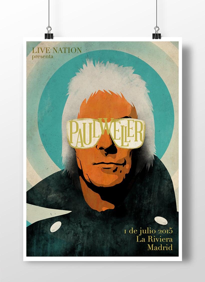 Cartel Paul Weller 1