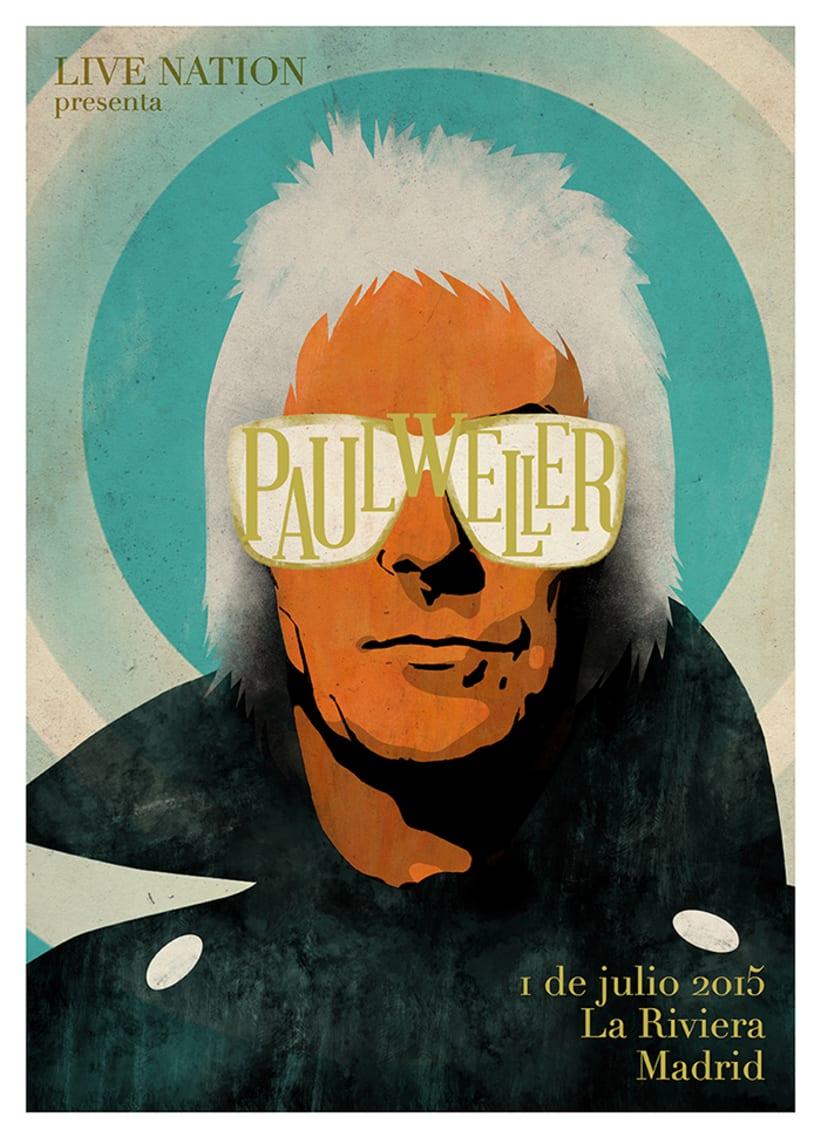 Cartel Paul Weller 0
