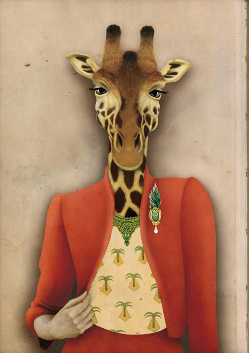Colección Animalaria, Audrey la jirafa -1