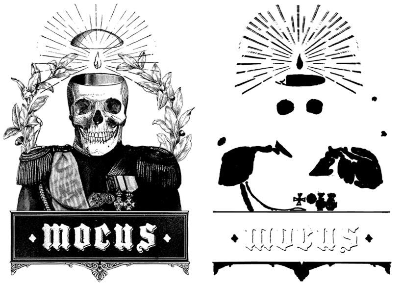 MOCUS. Cartel y camiseta. 6