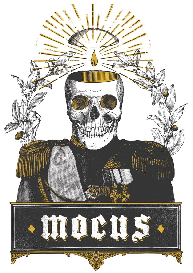 MOCUS. Cartel y camiseta. 7