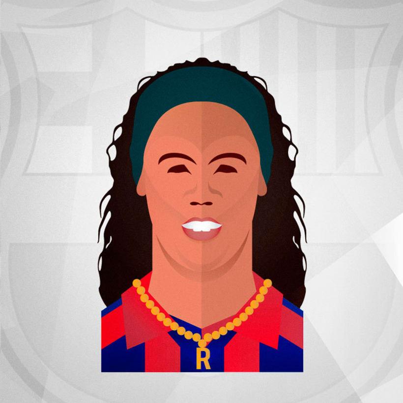 Magos (Maradona, Cruyff, Ronaldinho, Zidane, Pirlo, Kiko & Arda) 2
