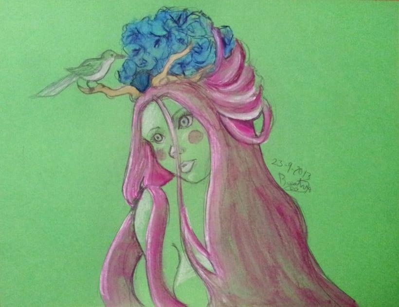 Serie de Ilustraciones Color -1