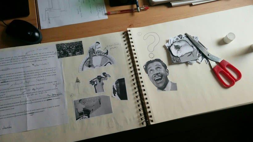 """Los Días de la Hormiga (Teaser #1). Proyecto final del curso """"Movimiento retro en After Effects"""" 1"""