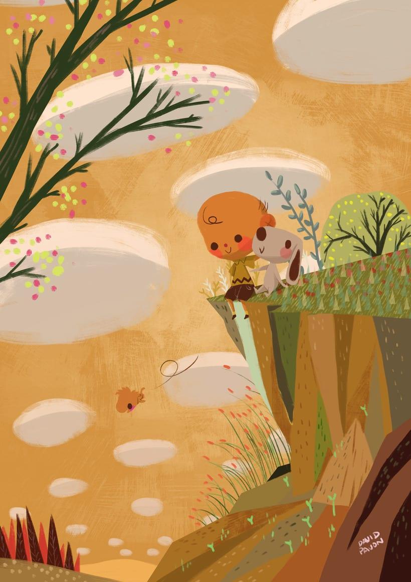 Carlitos y Snoopy -1