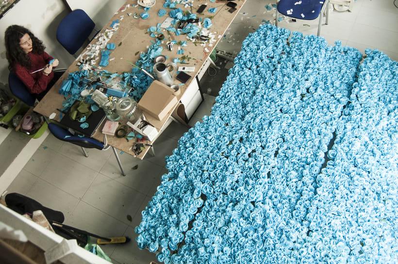 3000 Sant Jordi Folded Flowers 3
