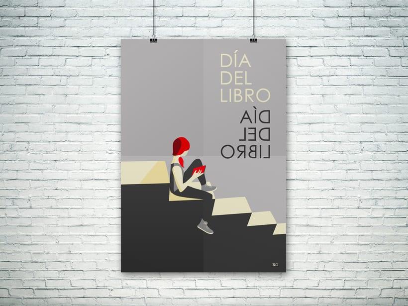 Cartel Día del Libro 0