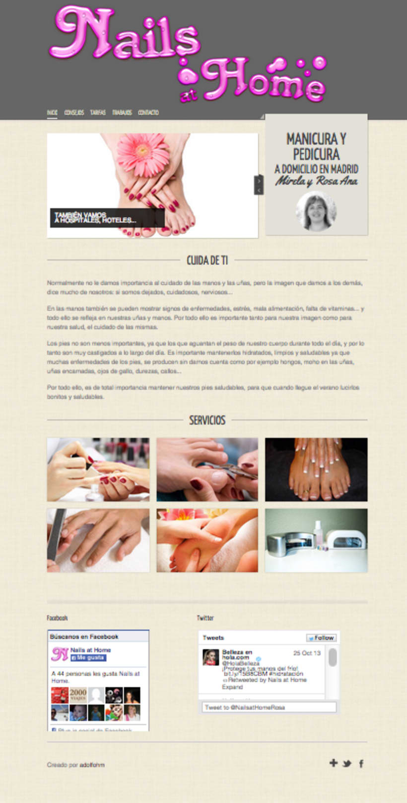 Nails at home -1