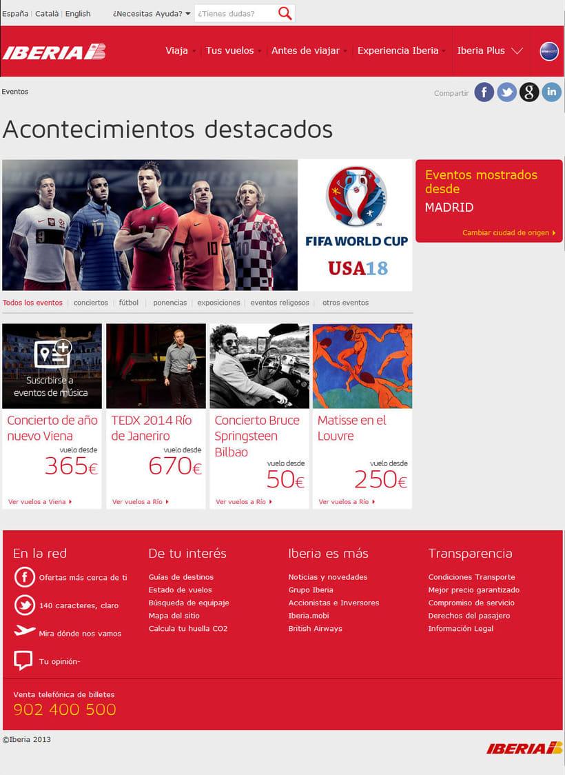 Rebranding de Iberia.com 1