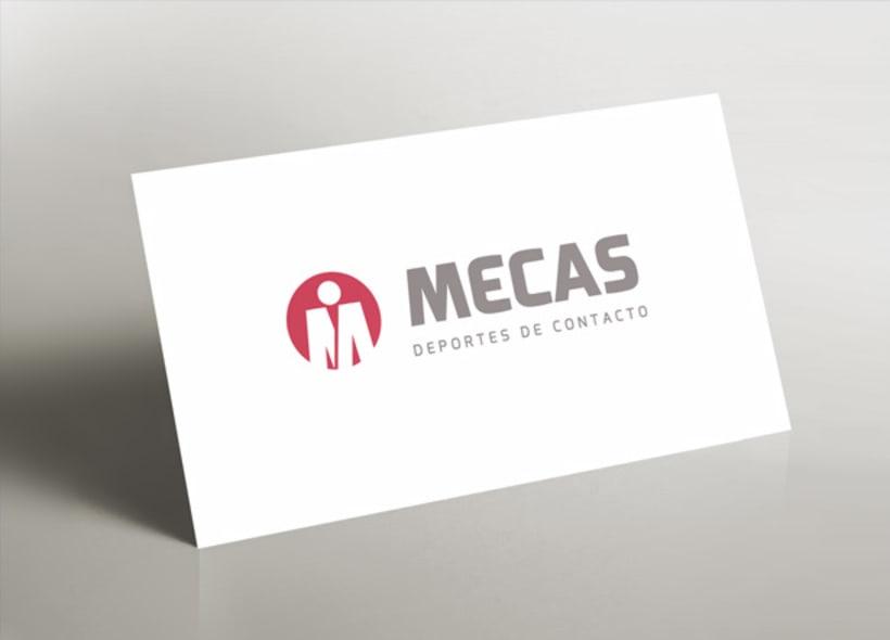 Mecas es el nombre de una academia madrileña especializada en deportes de contacto, artes marciales y sistemas de defensa tales como: Kick boxing, thai, K-1, judo, kárate, etc... -1
