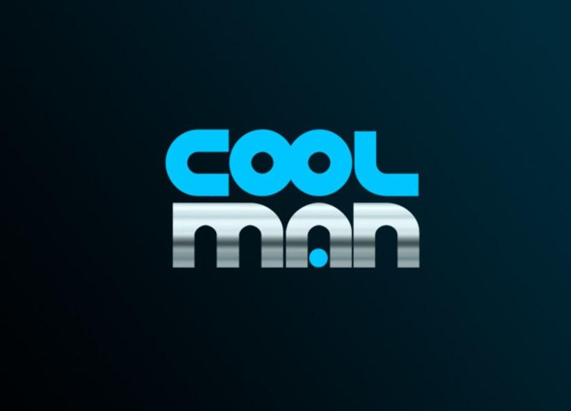 Logotipo para CoolMan, una peluquería masculina ubicada en el centro de Alicante. -1
