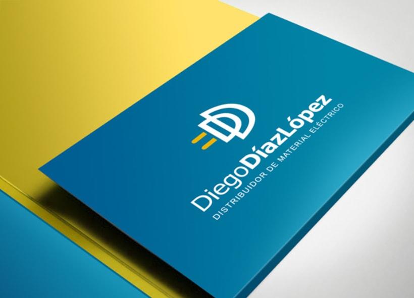 Diego Díaz López es el nombre de una empresa distribuidora de material eléctrico de media y baja tensión, iluminación, montaje de cuadros y energía solar.  -1