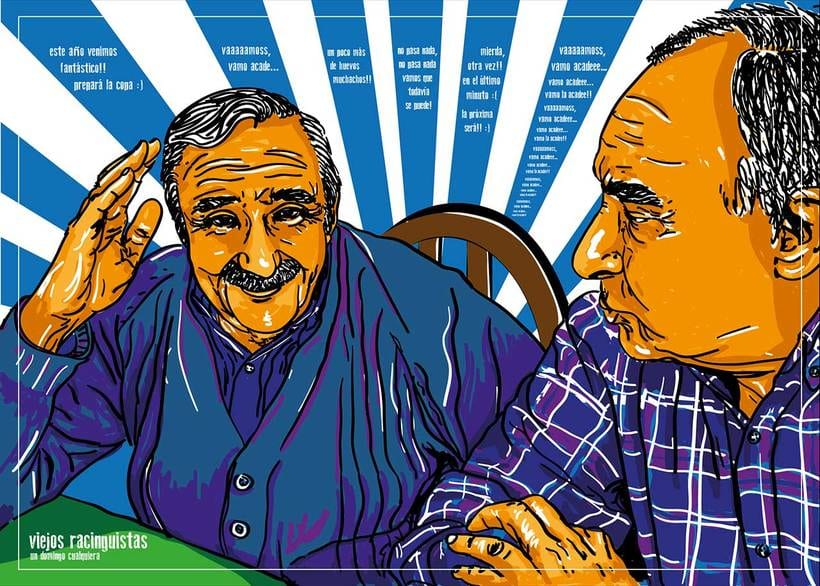 Retratos multicolor (illustrator) 7