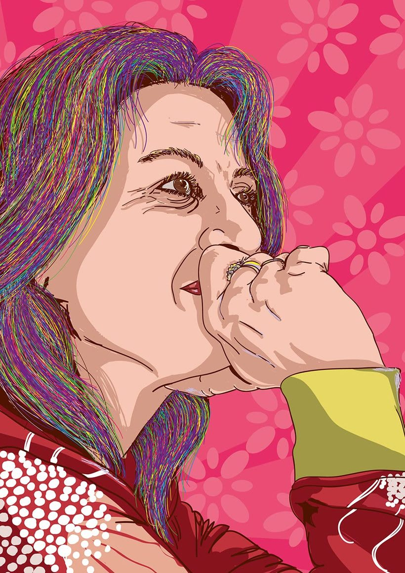 Retratos multicolor (illustrator) 4