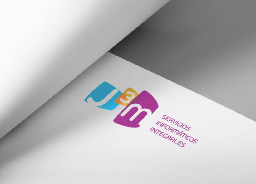 Diseño de logotipo para J3M, Servicios Informáticos Integrales, una empresa que ofrece servicios como asistencia on-site a empresas, asesoría, servicio técnico, mantenimiento informático, instalación de redes y diseño web. -1