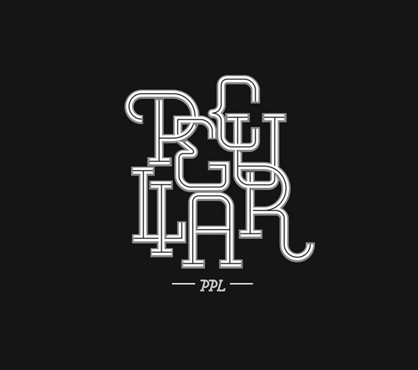 Lettering for Peculiar PPL 1