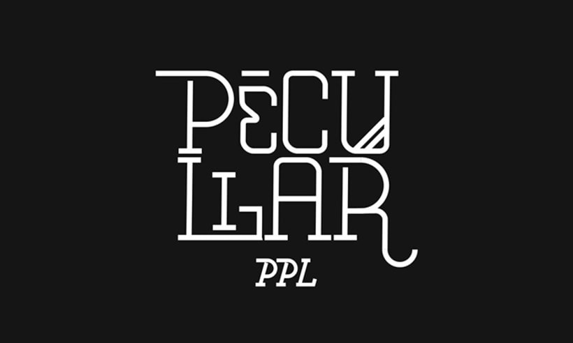 Lettering for Peculiar PPL 4