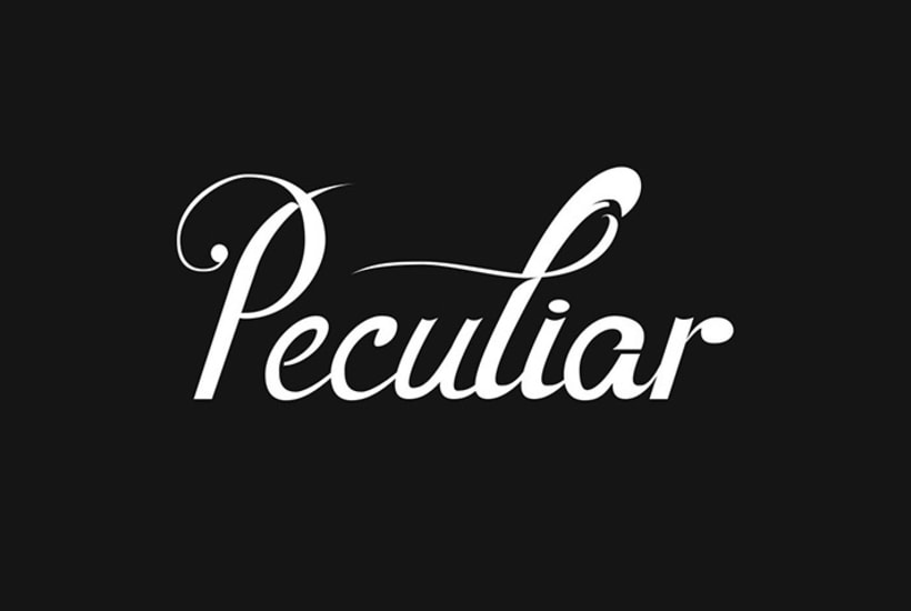 Lettering for Peculiar PPL 7