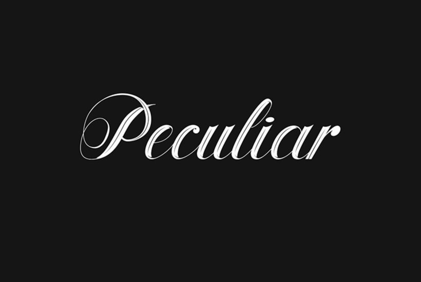 Lettering for Peculiar PPL 8