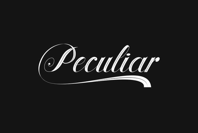 Lettering for Peculiar PPL 10
