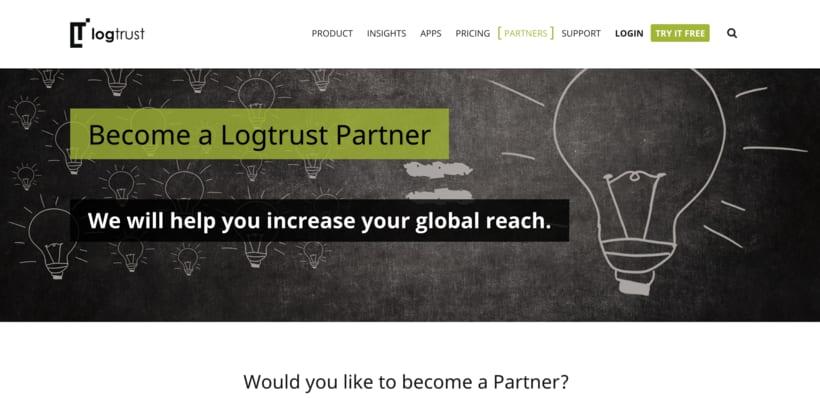 Diseñadora - Maquetadora Web en logtrust 4