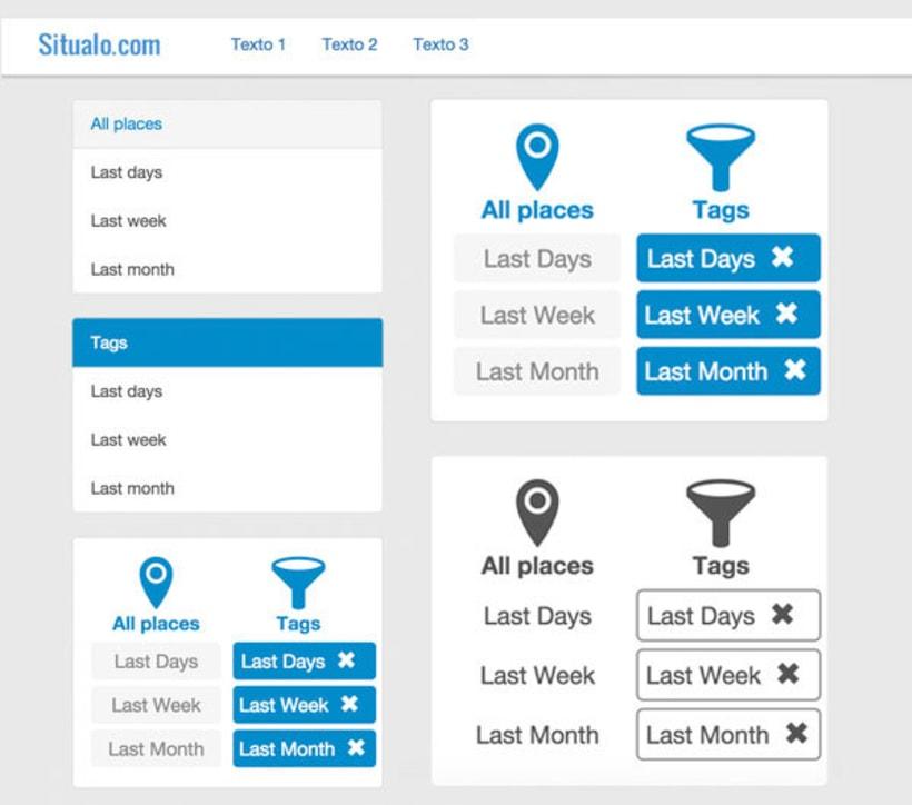 MAQUETACIÓN HTML BOOTSTRAP PARA SITUALO(Diseño de Landing page, aplicación móvil y aplicación web). 4