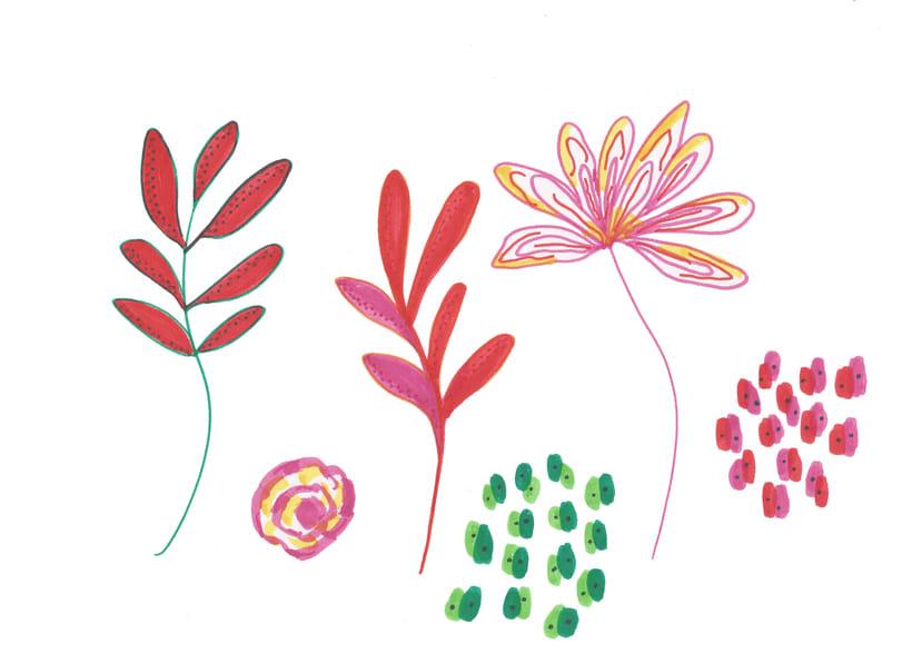 Pattern inspiración japonesa  2