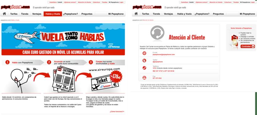 Website Pepephone  1