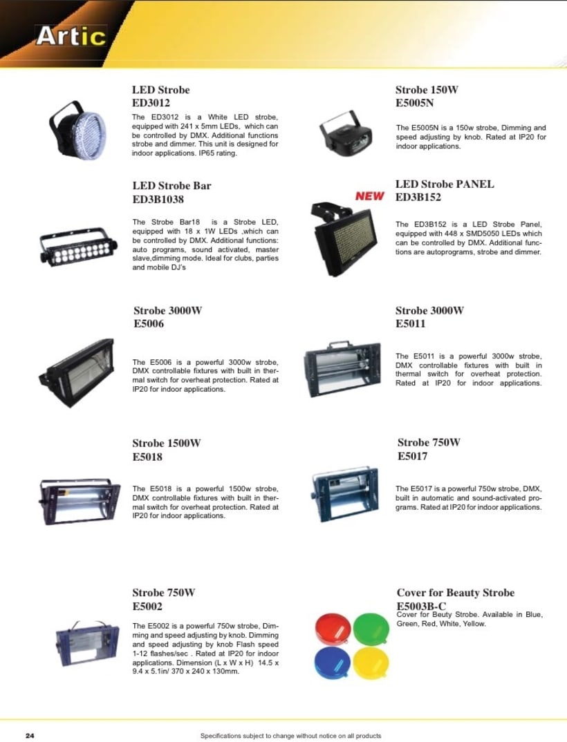 Catalogo empresa Koke trading  0