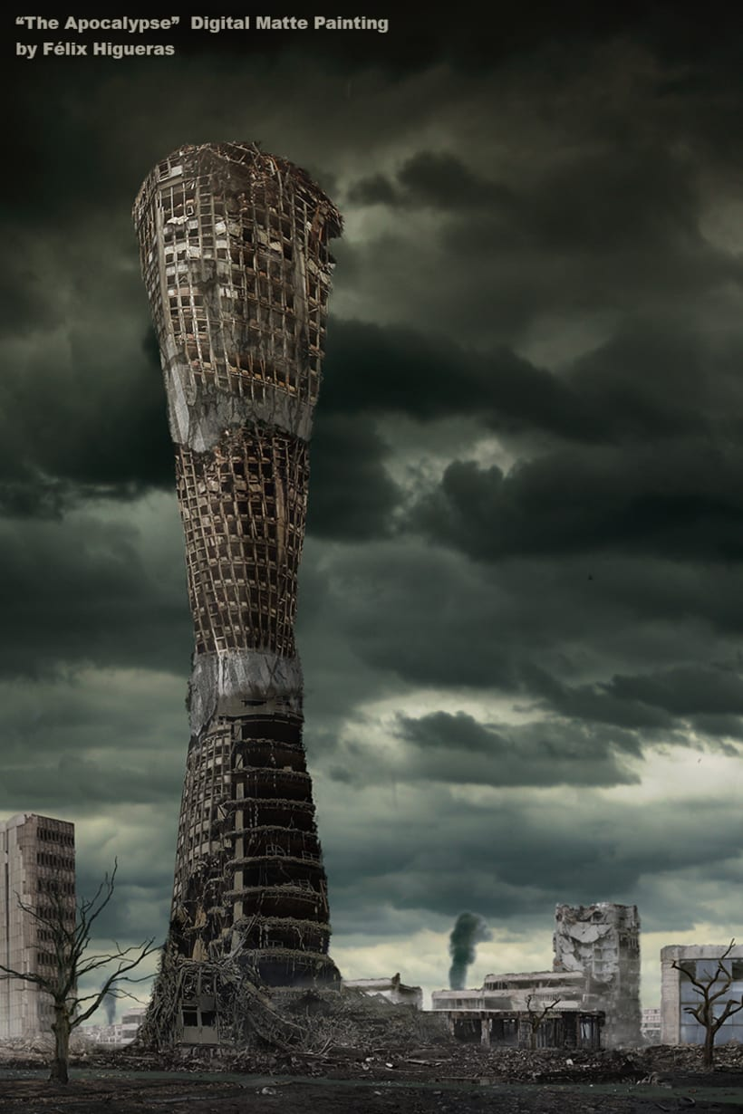 The Apocalypse - Digital Matte Painting -1