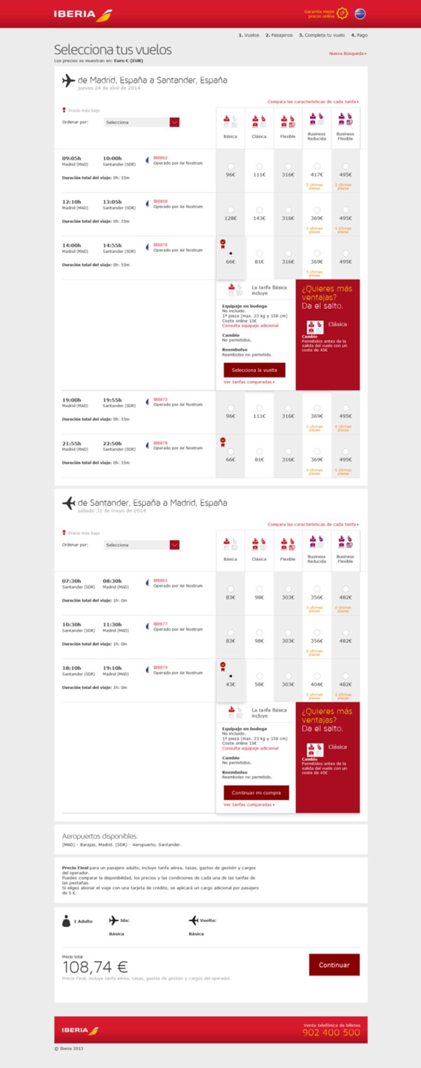 Rebranding de Iberia.com 3