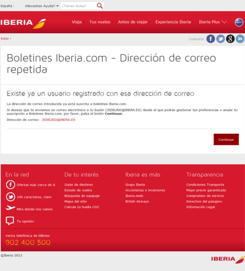 Rebranding de Iberia.com 4
