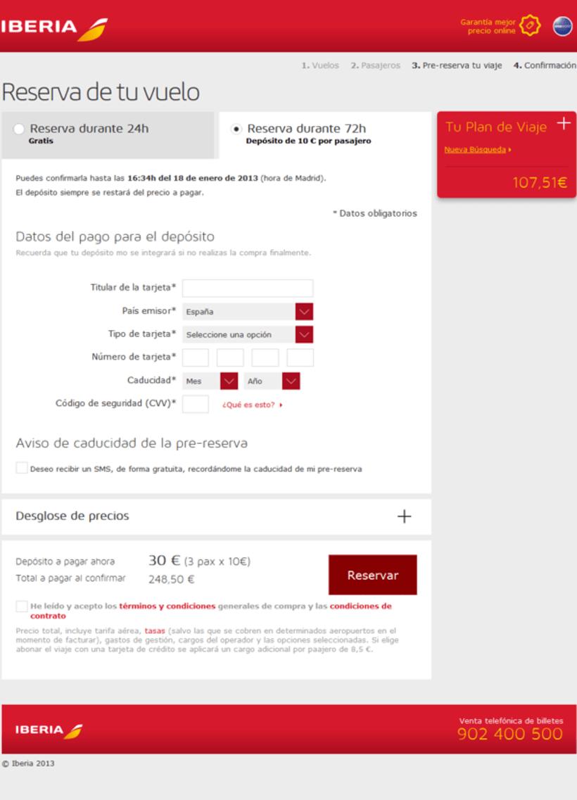 Rebranding de Iberia.com 5