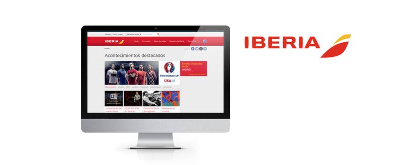 Rebranding de Iberia.com 0